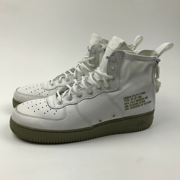32f008732a1 Nike SF AF1 MID (Air Force 1) IVORY IVORY